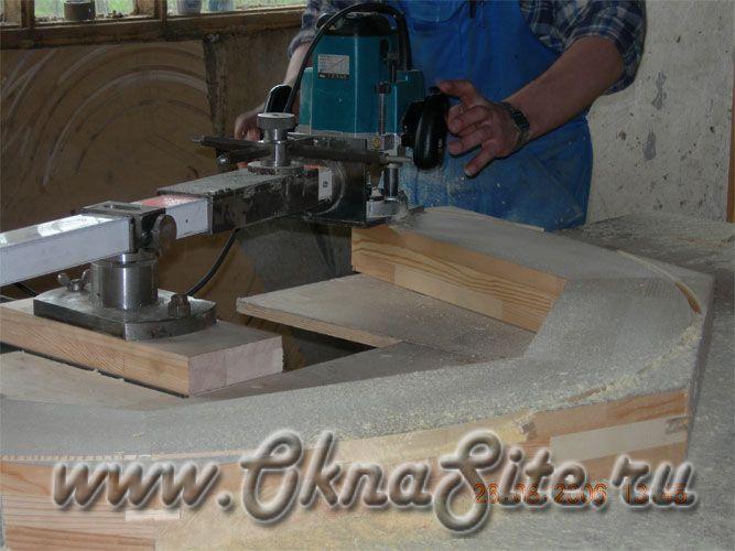 Процесс изготовления деревянных окон на заказ